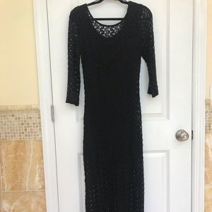 Forever 21 Crochet Maxi Dress